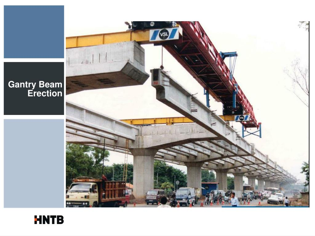 Gantry Beam Erection