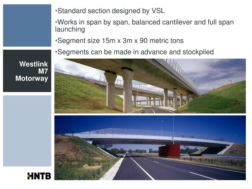 Standard section designed by VSL