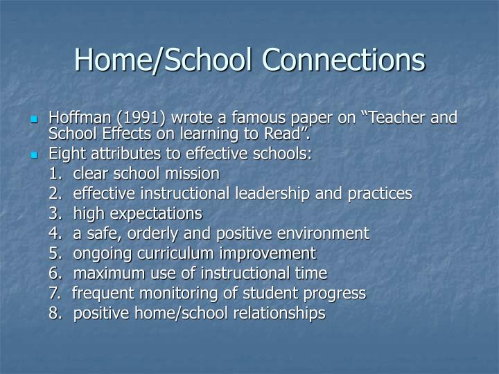 home school connections n.