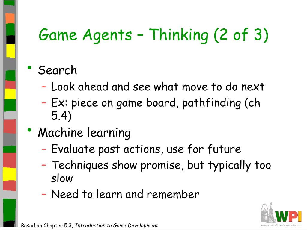 Game Agents – Thinking (2 of 3)
