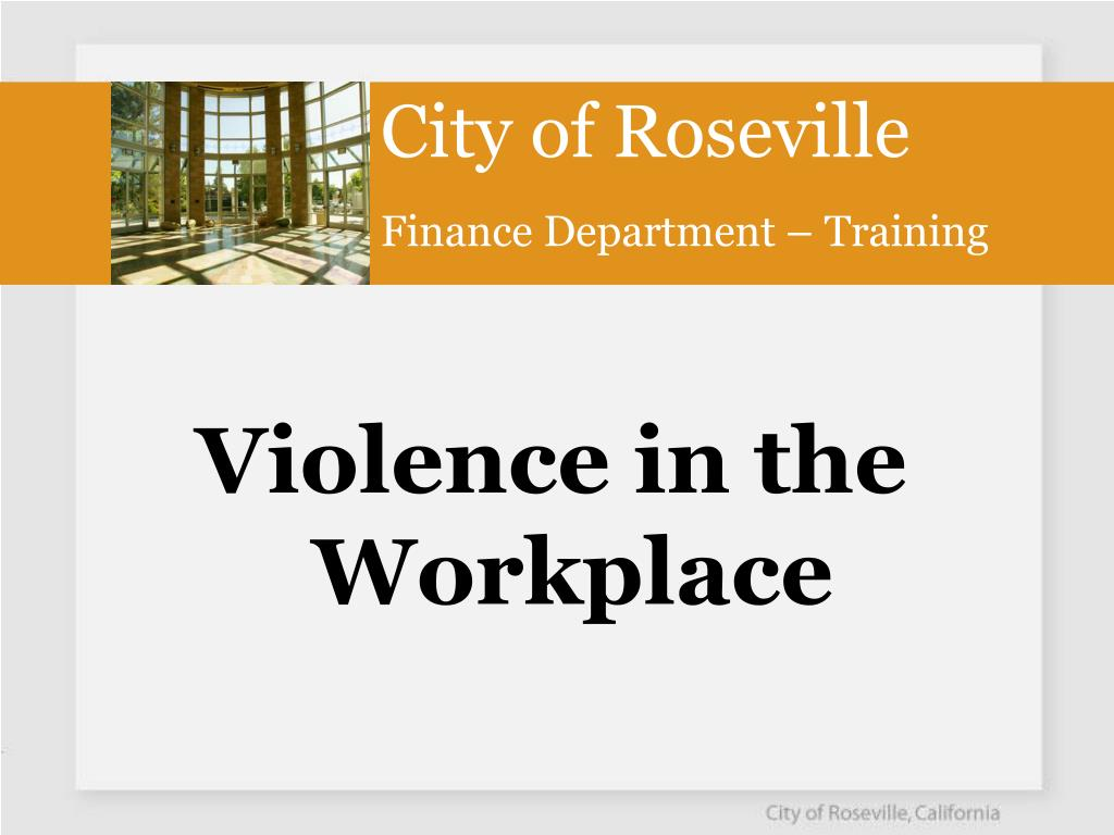 city of roseville finance department training l.