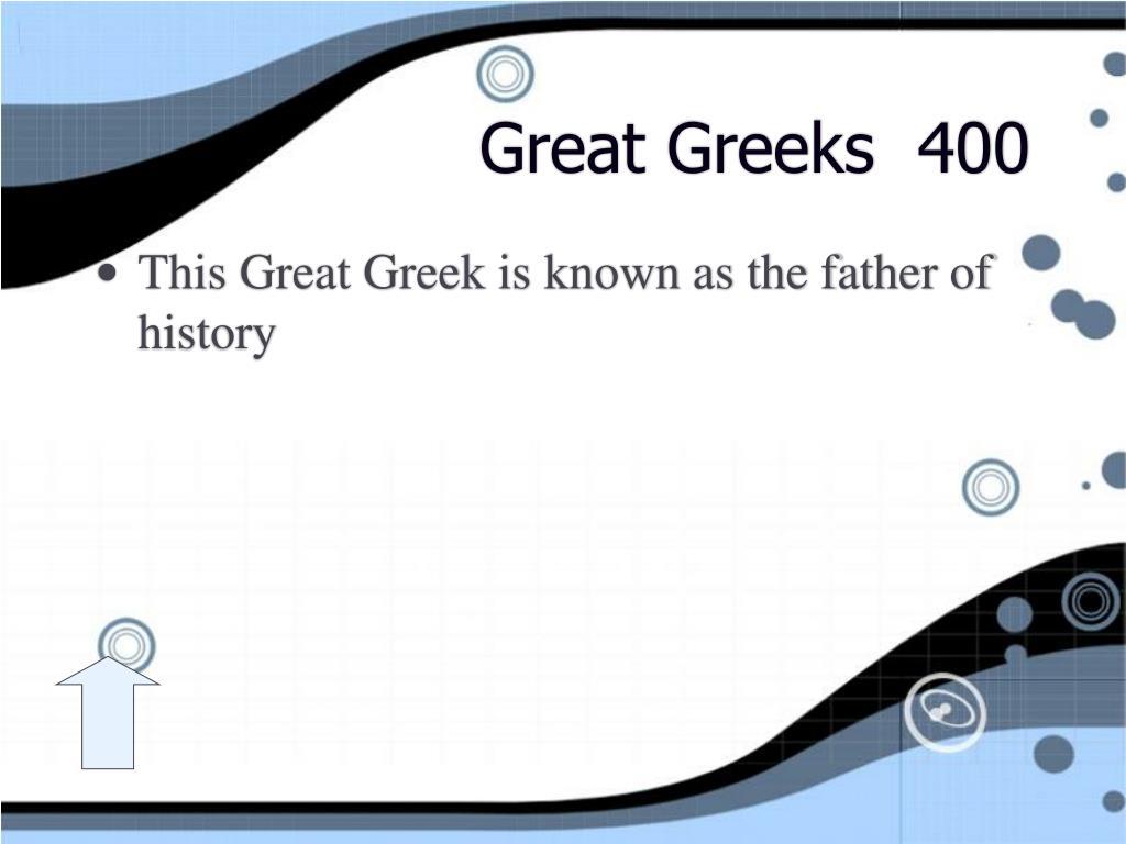 Great Greeks  400