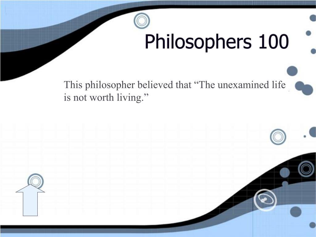 Philosophers 100