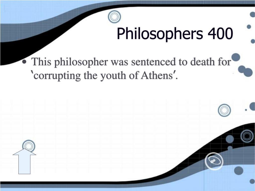 Philosophers 400