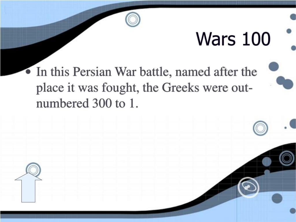 Wars 100