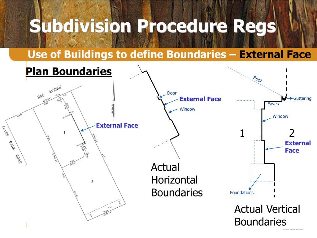 Plan Boundaries