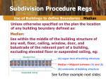 subdivision procedure regs8