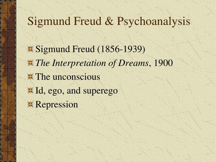 an analysis of the concepts of ego and id by sigmund freud Sigmund freud theorized that the mind an analysis of the concepts of ego and id by sigmund freud was divided into three parts: 14-3-2010 according to sigmund freud's psychoanalytic theory of personality, personality is composed of three elements.