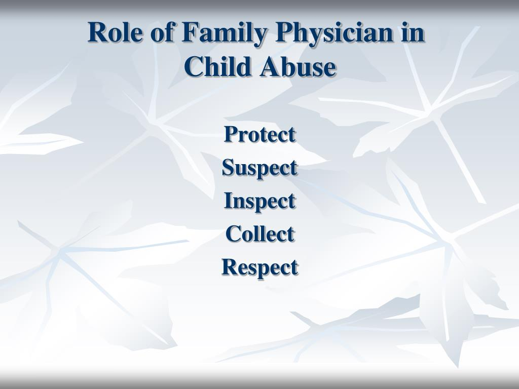 Role of Family Physician in