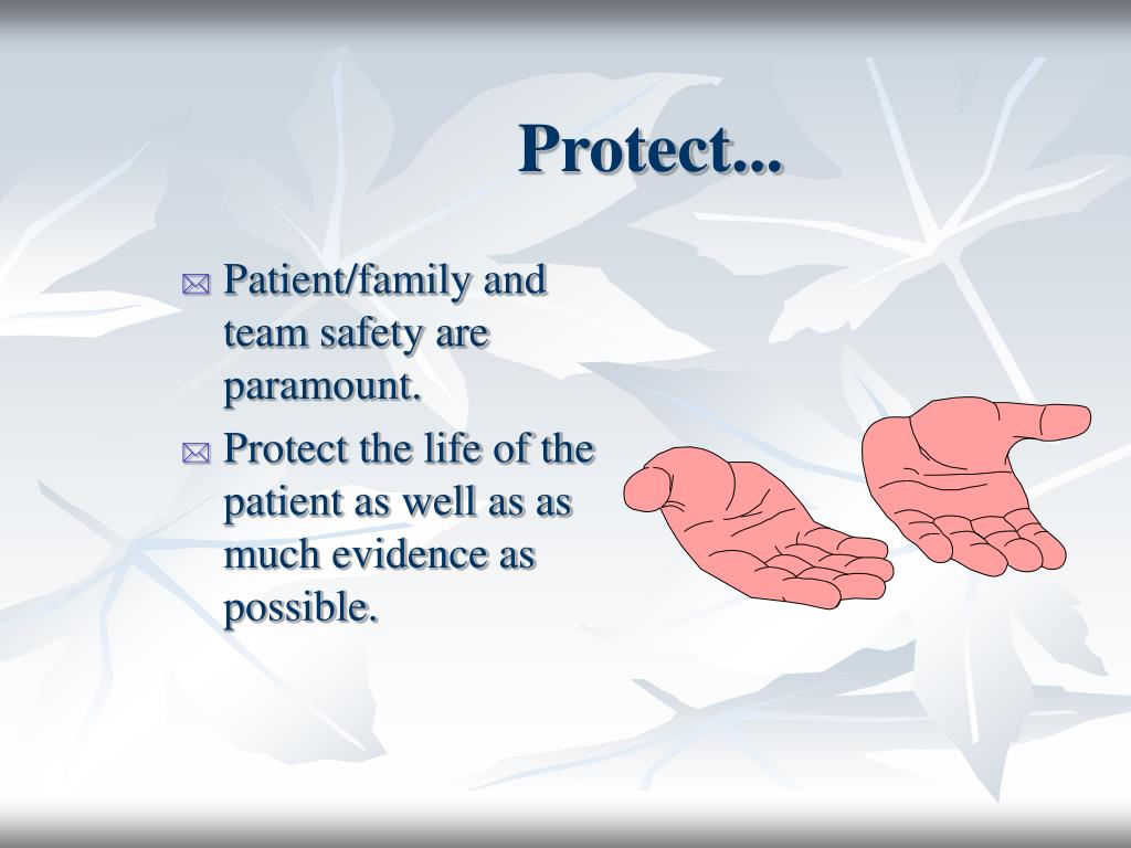 Protect...