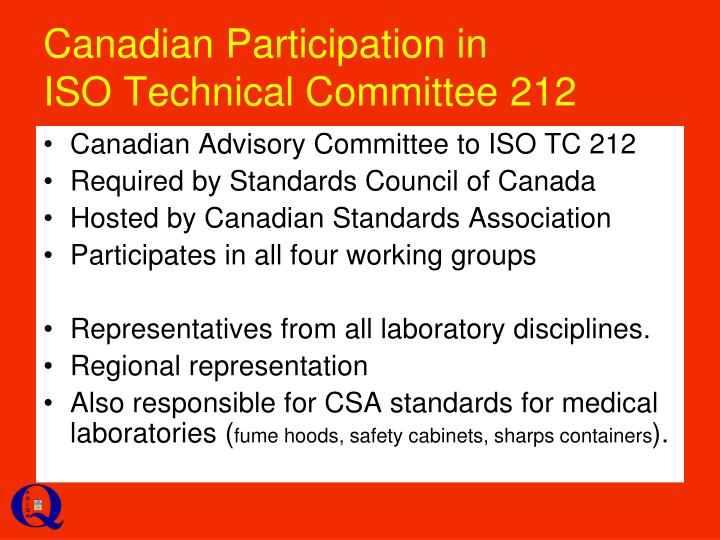 Canadian Participation in