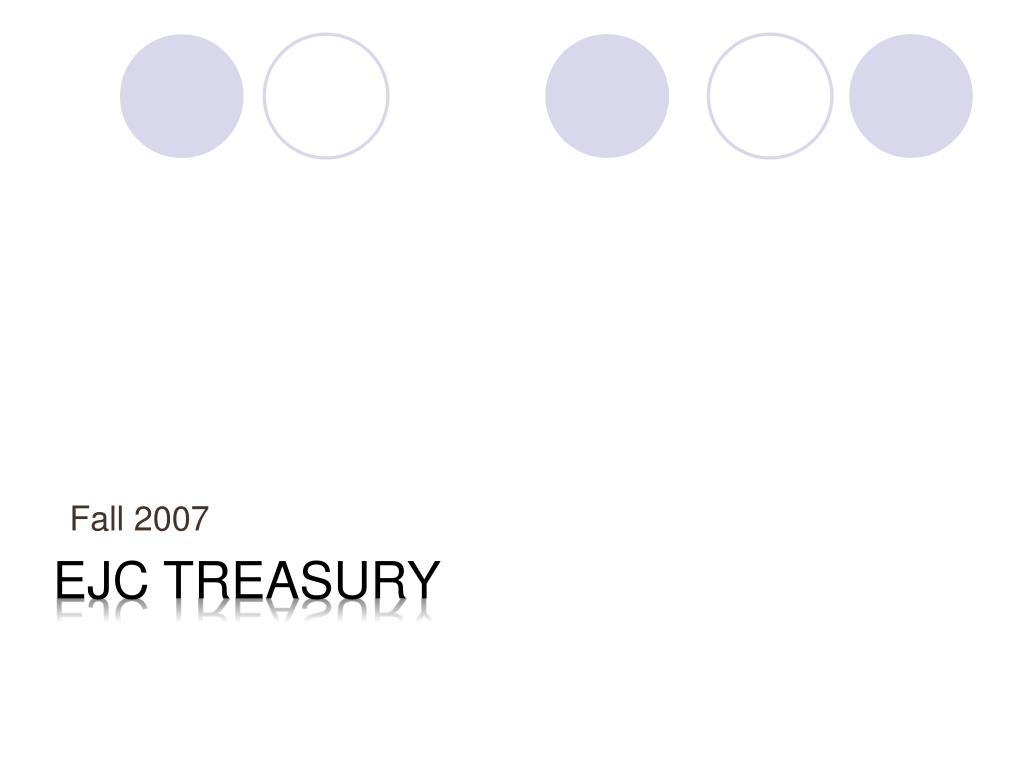 EJC treasury