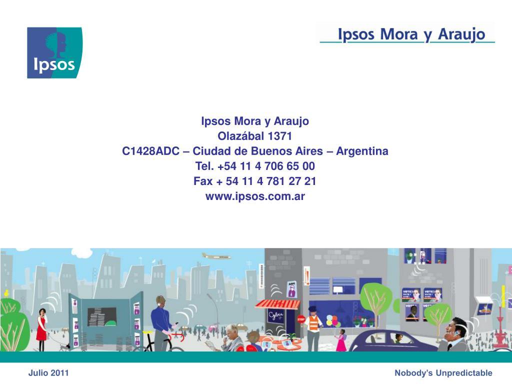 Ipsos Mora y Araujo