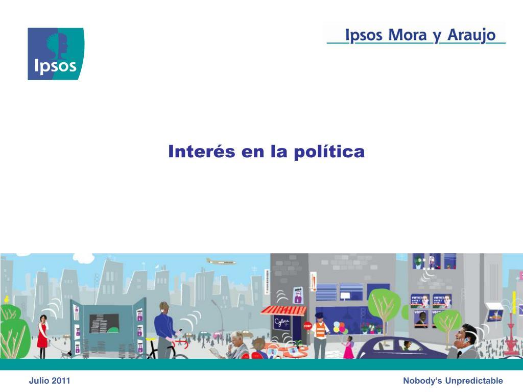 Interés en la política