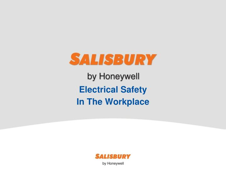 electrical safety in the workplace n.