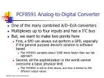 pcf8591 analog to digital converter