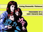 living domestic violence