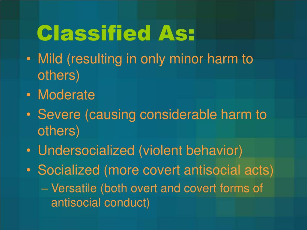 Classified As: