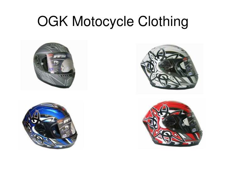 Ogk motocycle clothing2