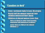 candies in hell