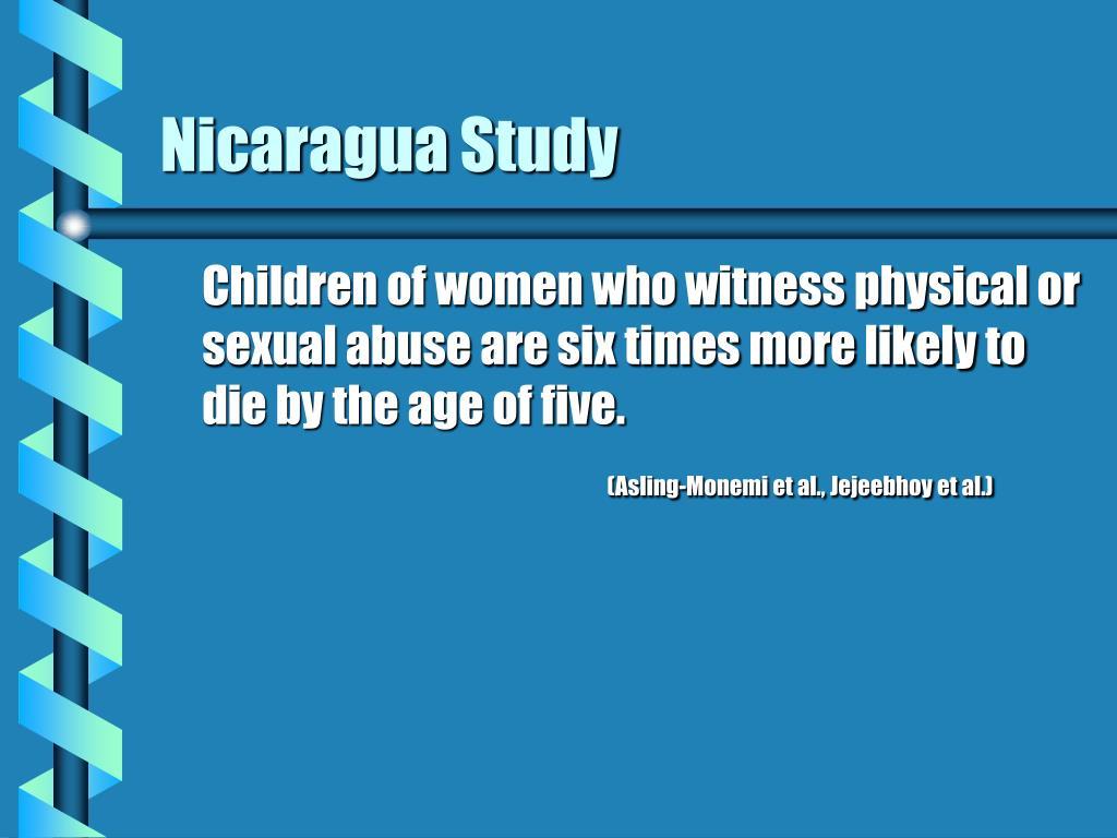 Nicaragua Study