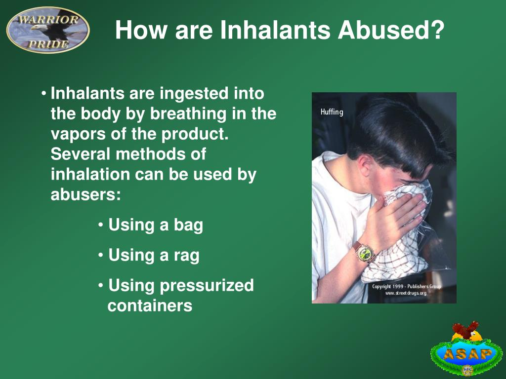 How are Inhalants Abused?