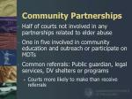community partnerships22