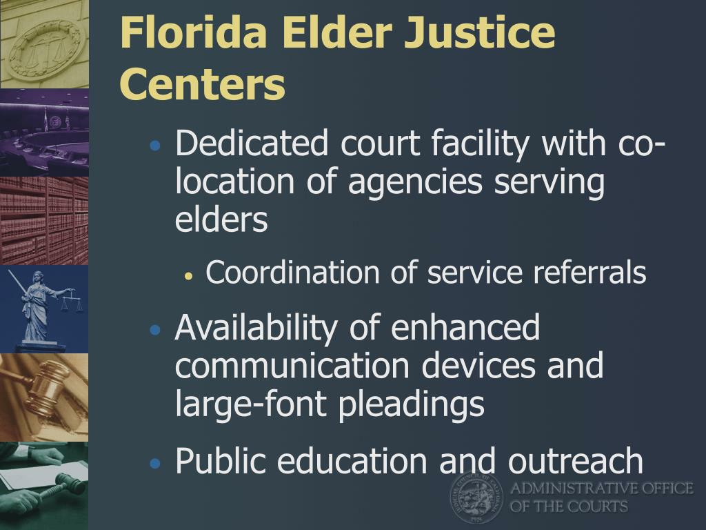 Florida Elder Justice Centers
