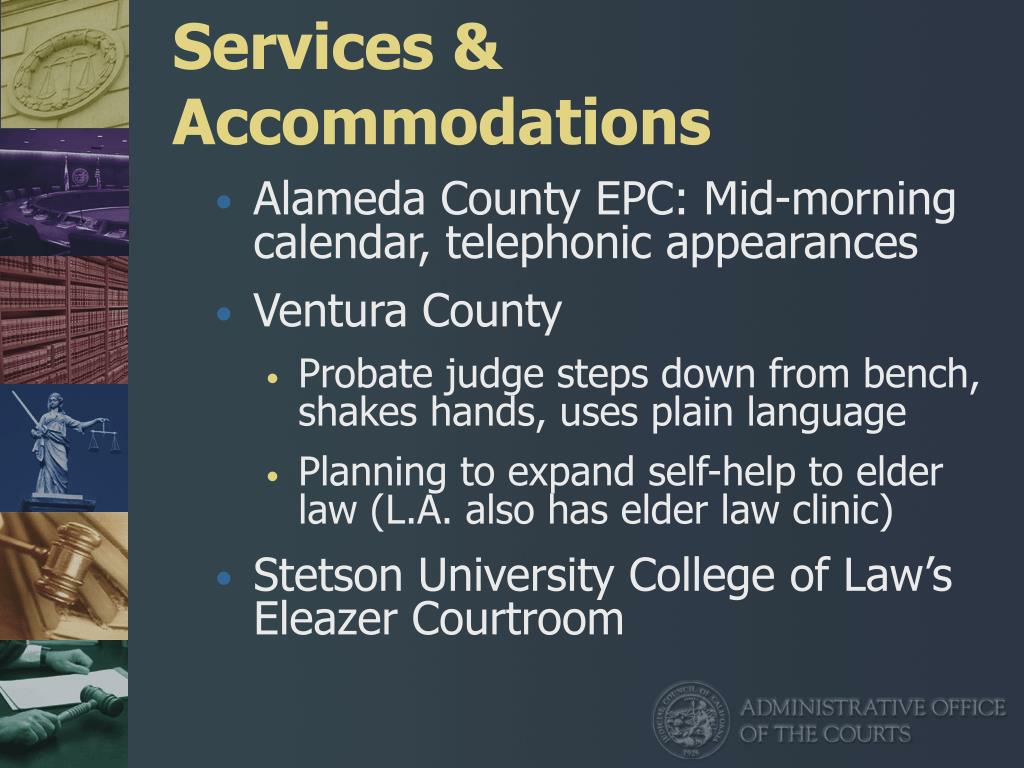 Services & Accommodations