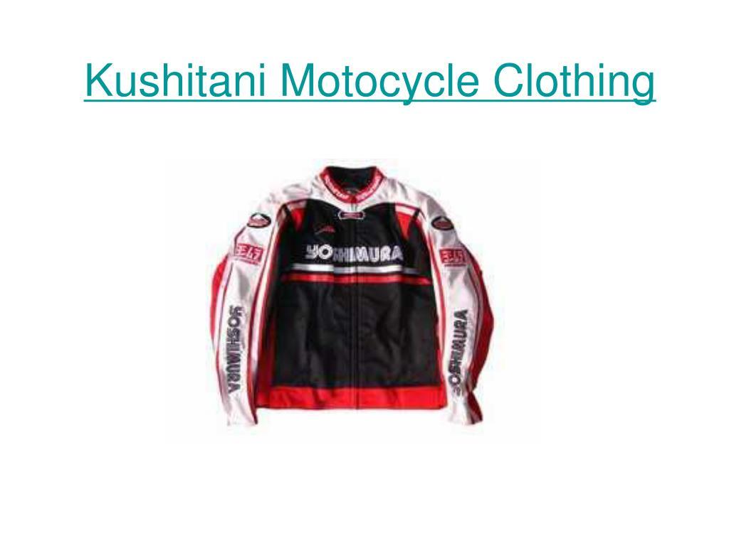 kushitani motocycle clothing l.