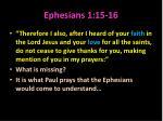 ephesians 1 15 16
