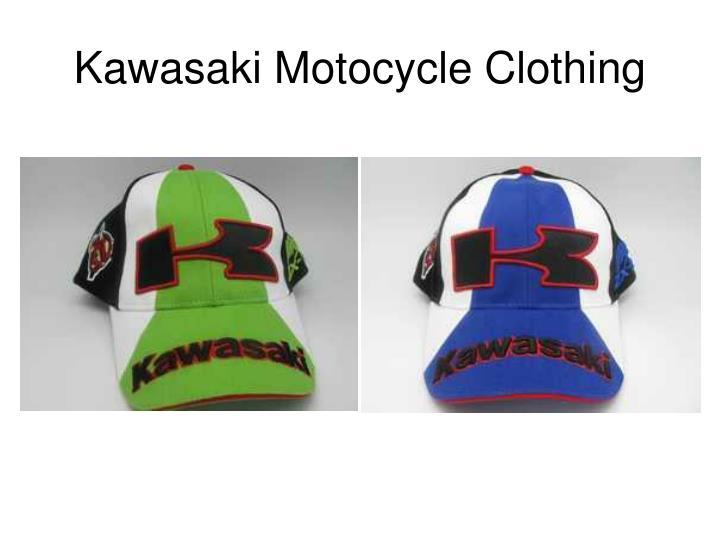 Kawasaki motocycle clothing2