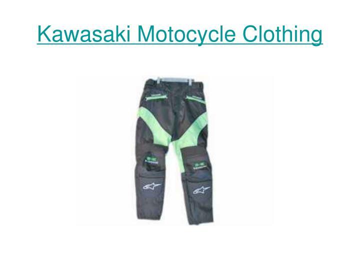 Kawasaki motocycle clothing3