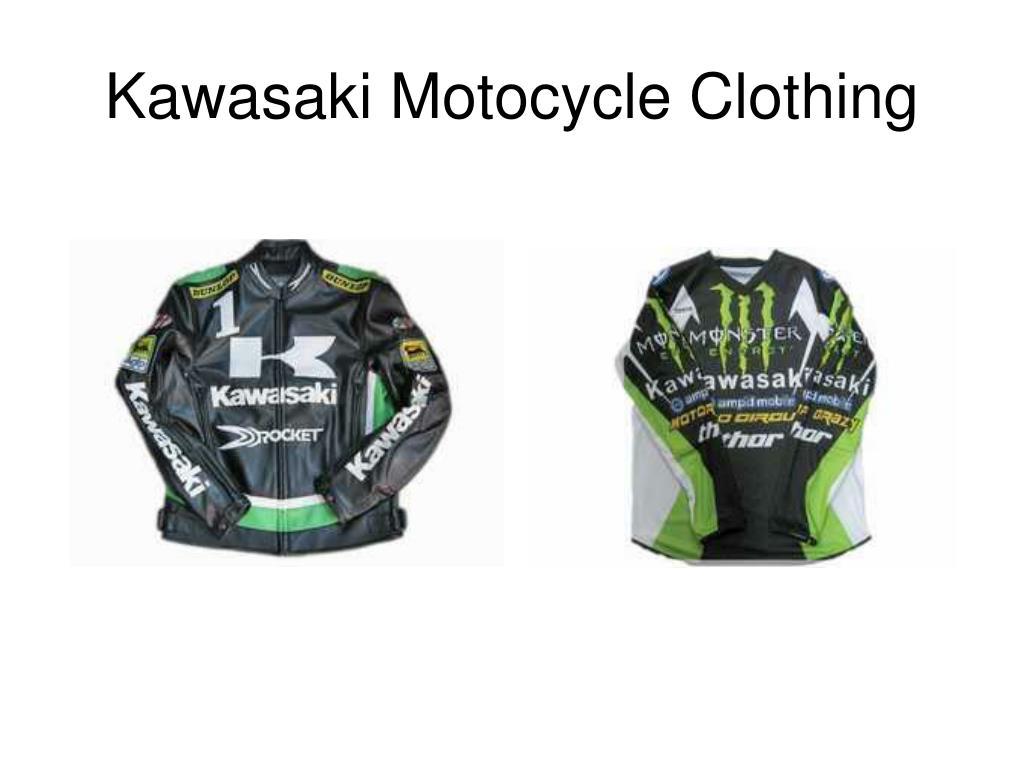 Kawasaki Motocycle Clothing