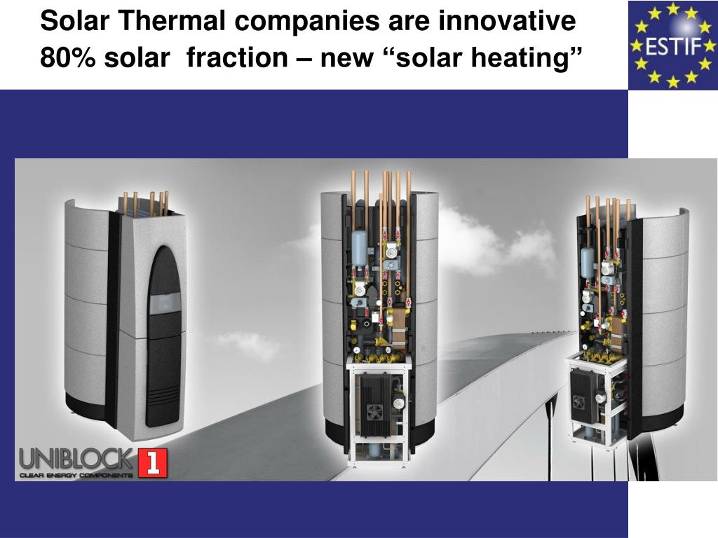 Solar Thermal companies are innovative