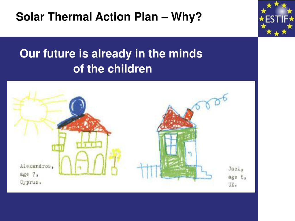 Solar Thermal Action Plan – Why?