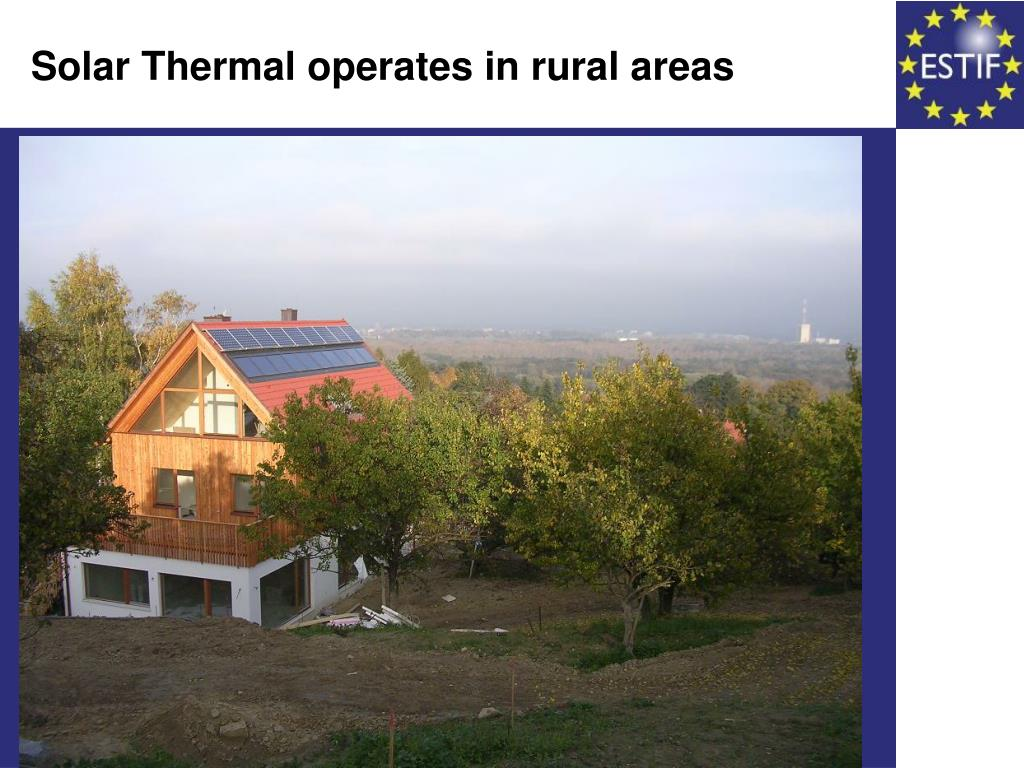 Solar Thermal operates in rural areas
