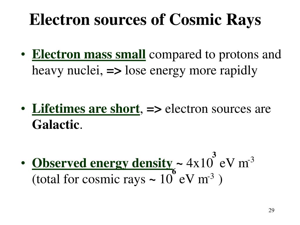 Electron sources of Cosmic Rays