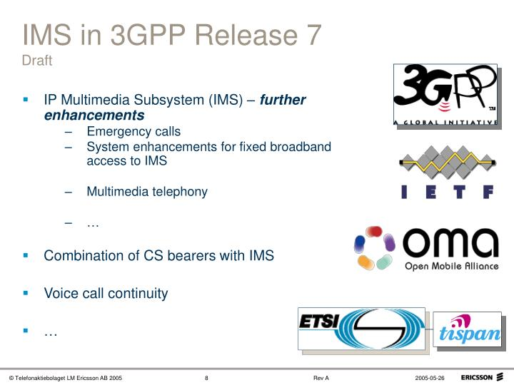 IMS in 3GPP Release 7