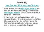 power by joe rocket motorcycle clothes