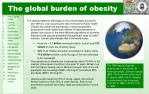 the global burden of obesity