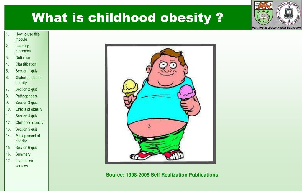 What is childhood obesity
