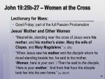 john 19 25b 27 women at the cross67