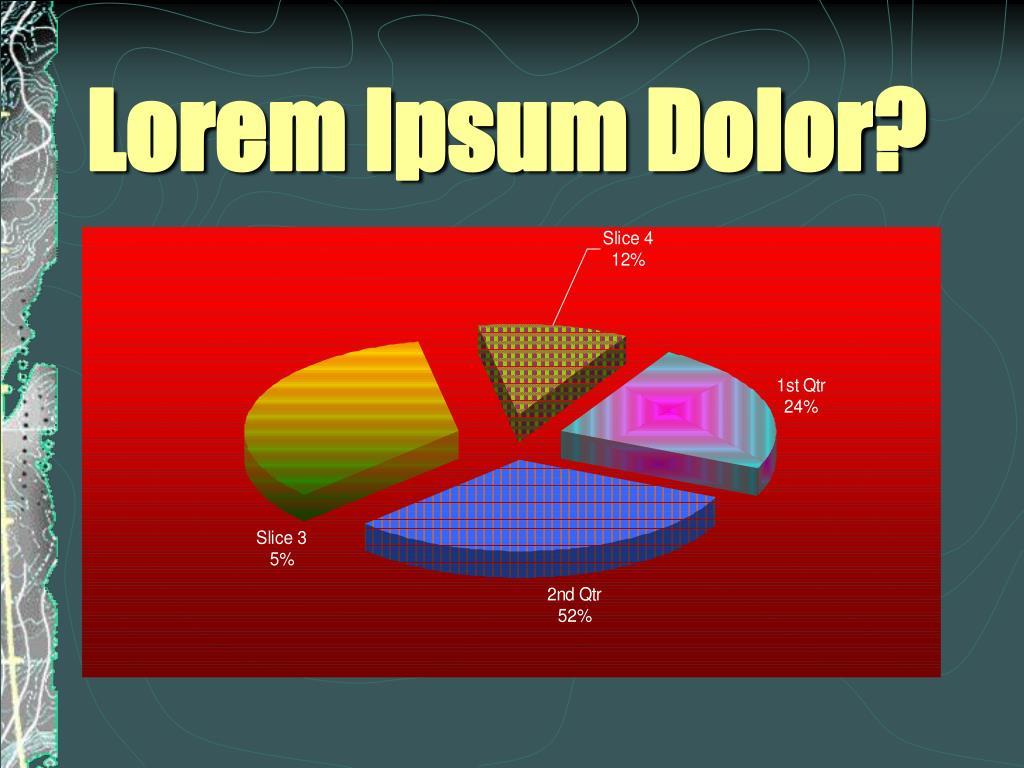 Lorem Ipsum Dolor?