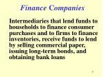 finance c ompanies