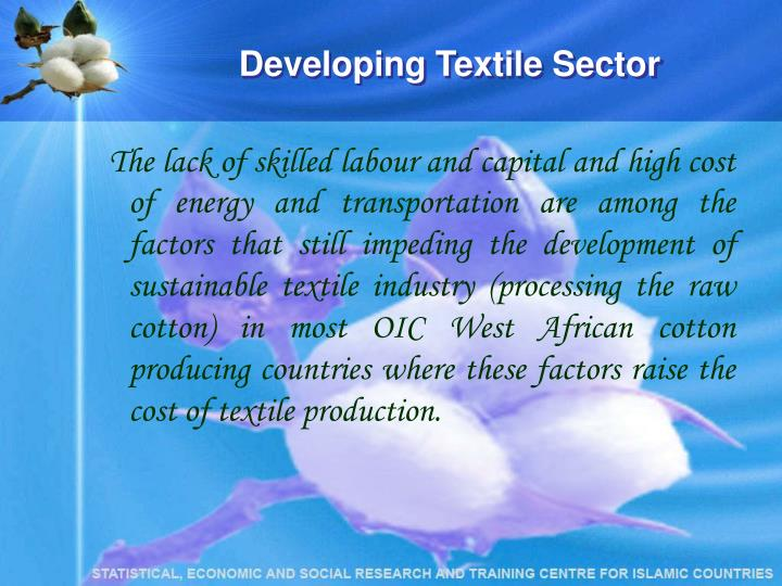 Developing Textile Sector
