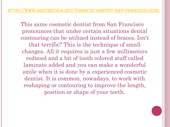 Http www aesthetika net cosmetic dentist san francisco html3