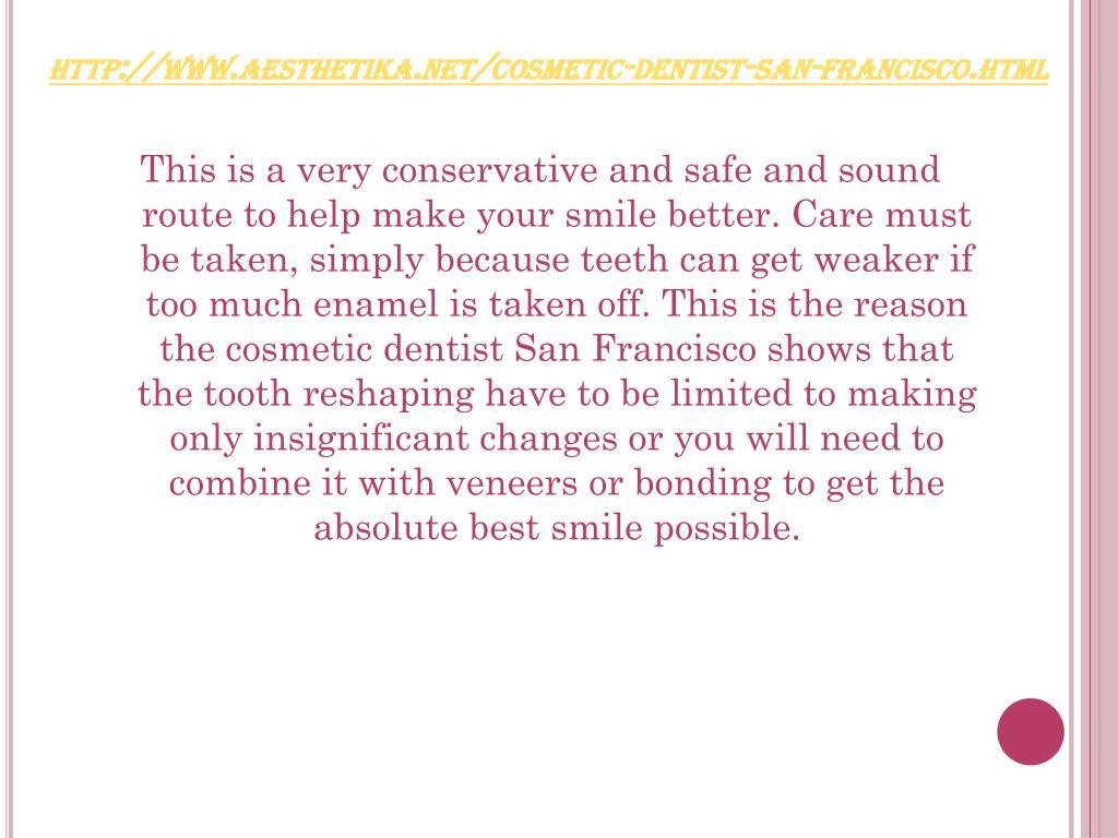 http://www.aesthetika.net/cosmetic-dentist-san-francisco.html