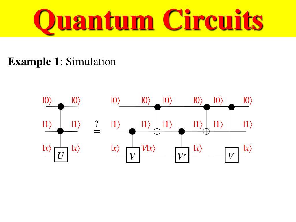 Quantum Circuits
