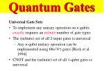 quantum gates62